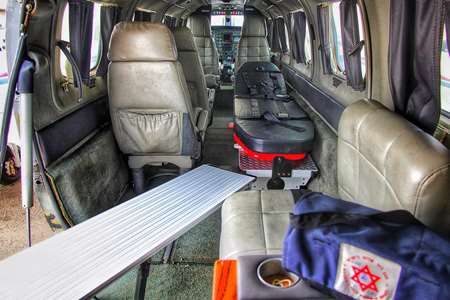 Inside Air ambulance